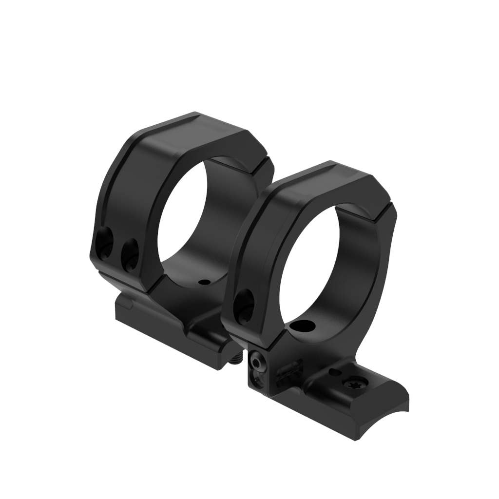 GW Unity 20 MOA Scope Ring Set 34mm Fwd Med LA