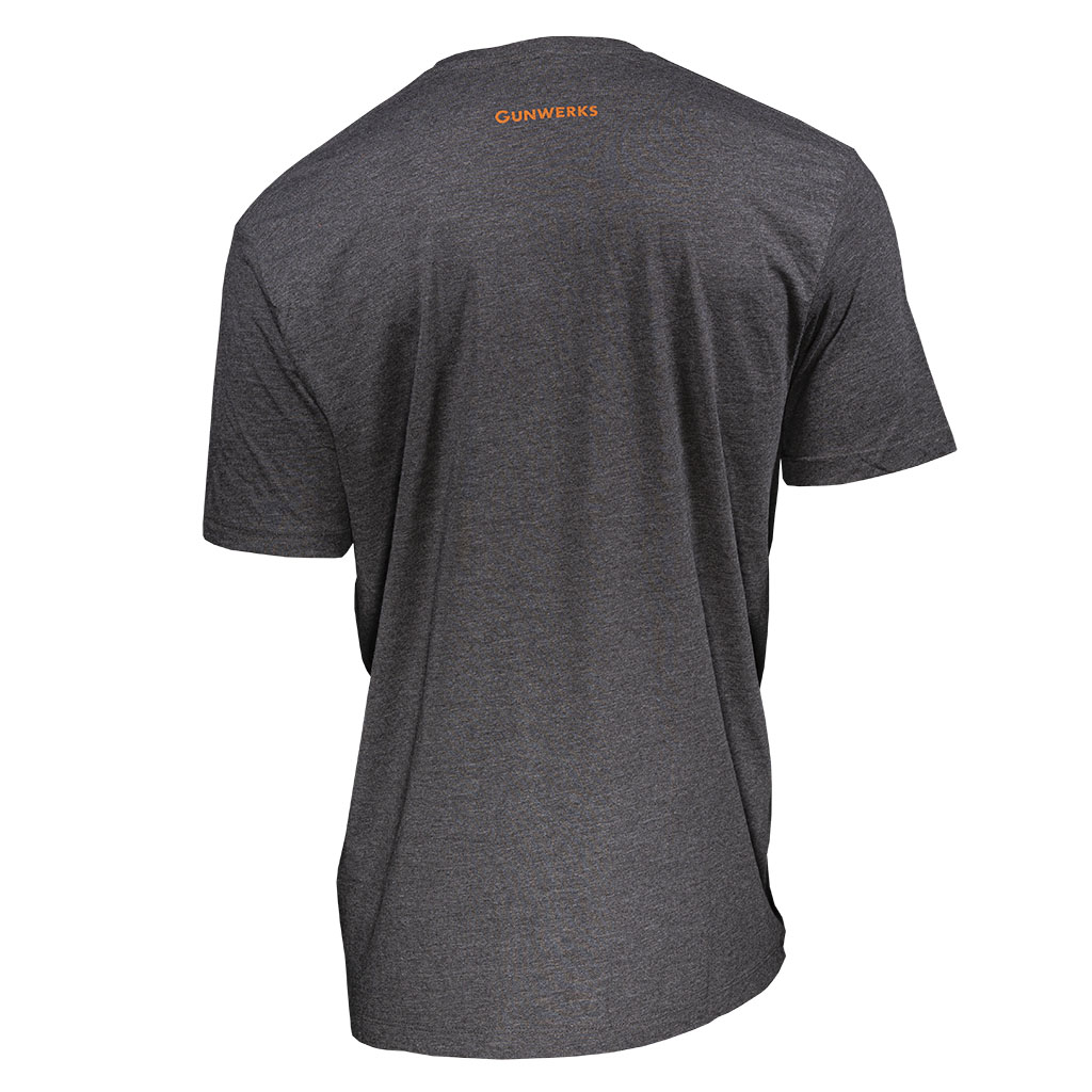 Gunwerks Send it T-Shirt in Midnight Heather