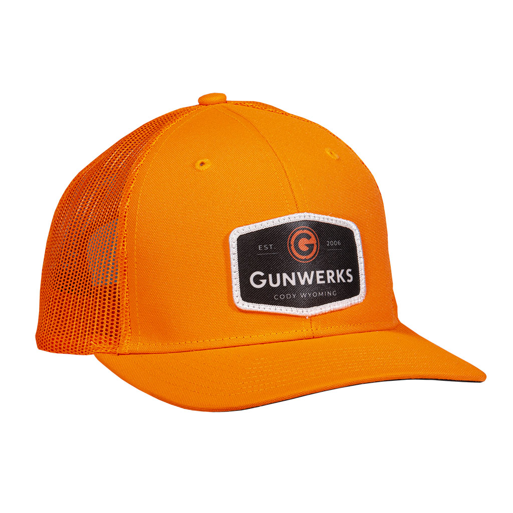 [PD-K1106] Gunwerks Blaze Orange Hat with Embroidered Patch